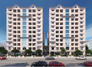 Architectural design -Exterior design-10 storey apartment