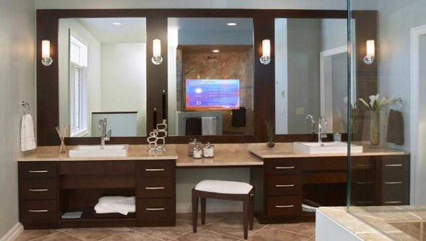 bathroom remodeling - makeup