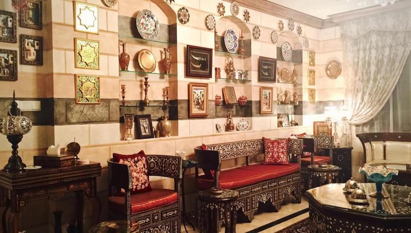 Islamic interior design - decoration
