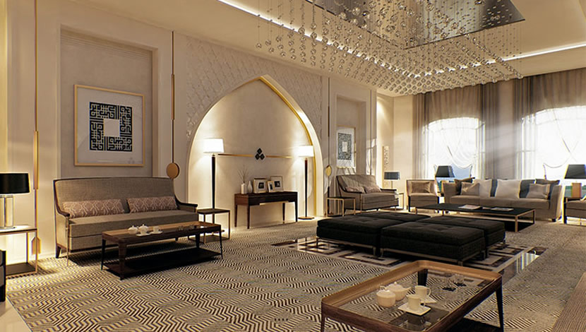 Islamic interior design - furniture