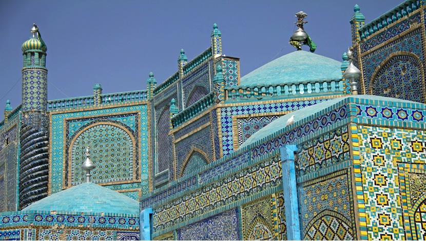 Blue mosque one of beautiful Islamic interior design