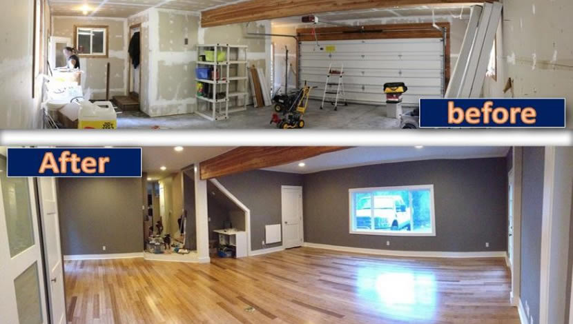 home improvement - Convert the garage into a living space