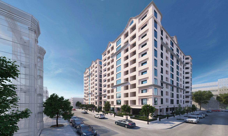 Apartment exterior design | architectural design | S3DA-Design