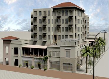 multi-level buildings-exterior design