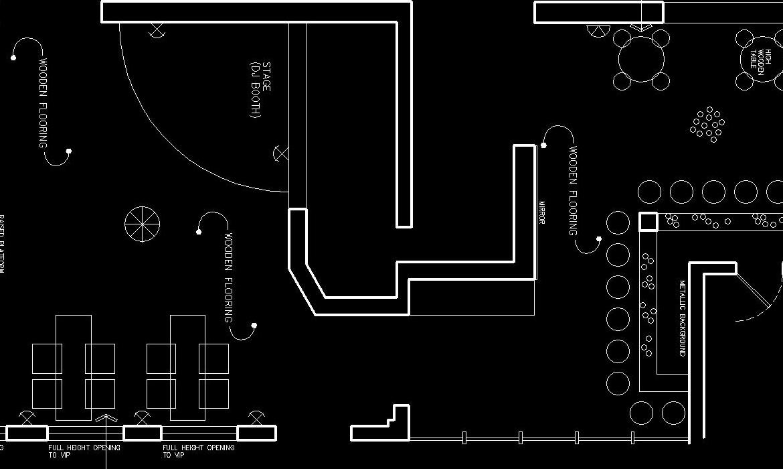 Interior design - Candlelight club 4