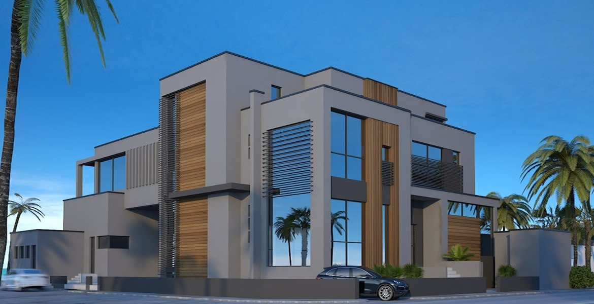 Family holiday house design in Dubai. Structural and Architectural design