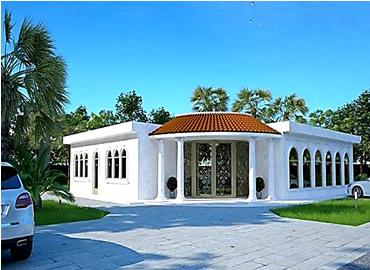 Arabic modern villa