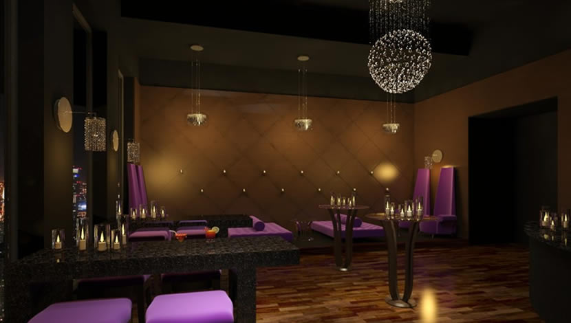 Candlelight Club - interior design
