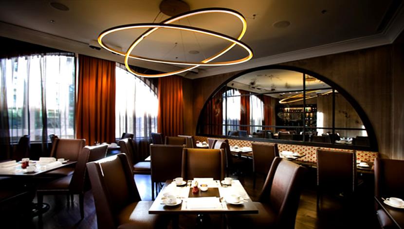 restaurant atmosphere lighting