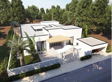 Family holiday villa
