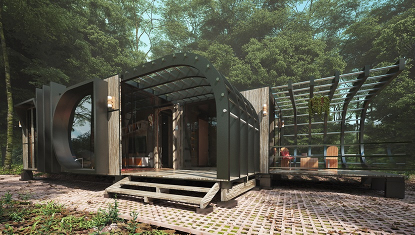converted container-Home design 1
