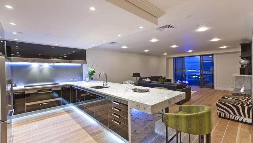 lighting design of living room