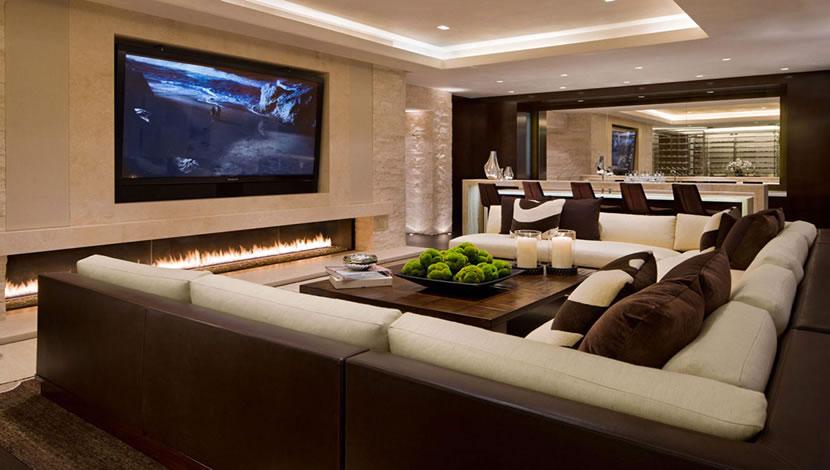 living room design - TV