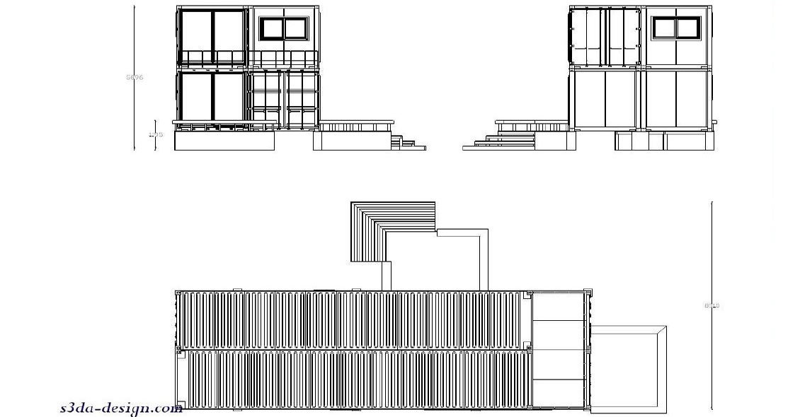 shipping container home design