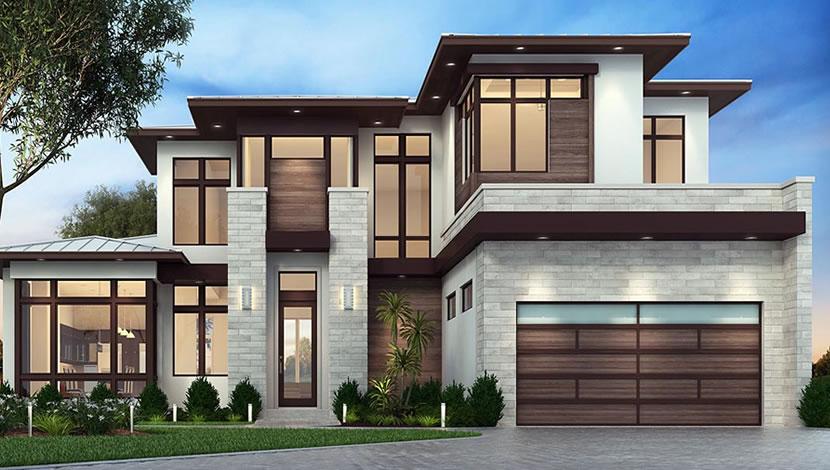 home exterior design-front facade