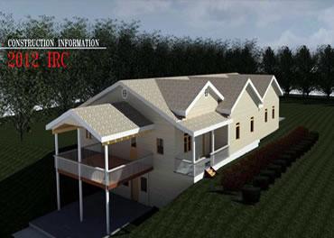 Wood-frame houses - in progress