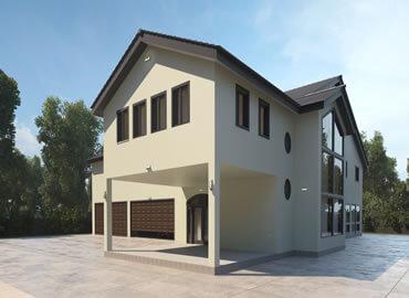 modern home design in CA