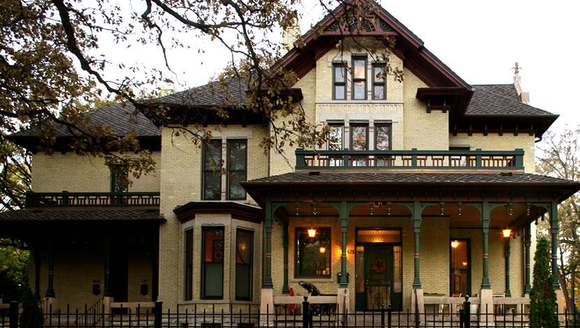 home exterior design - Victorian style