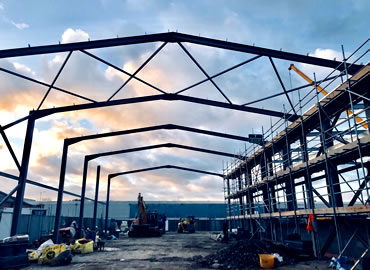 structural design services - steel warehouse