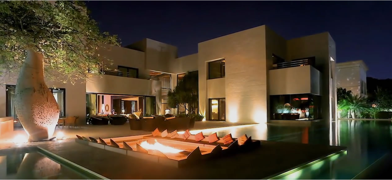 Architectural design - Home page