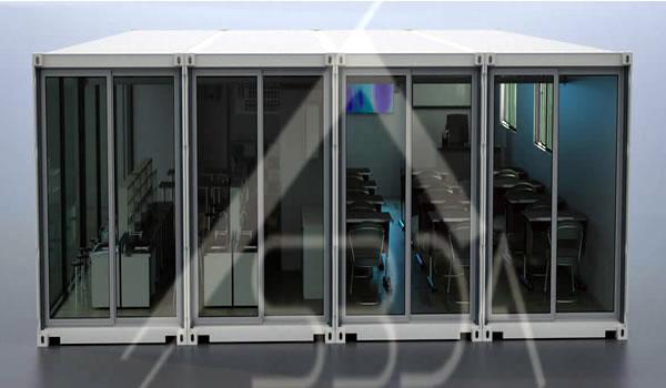 Container Classroom in California