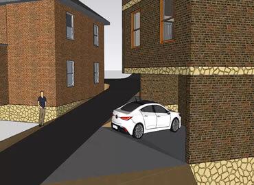 Duplex House Design In Scotland -1