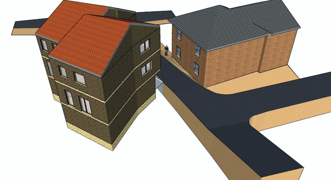Duplex House Design In Scotland