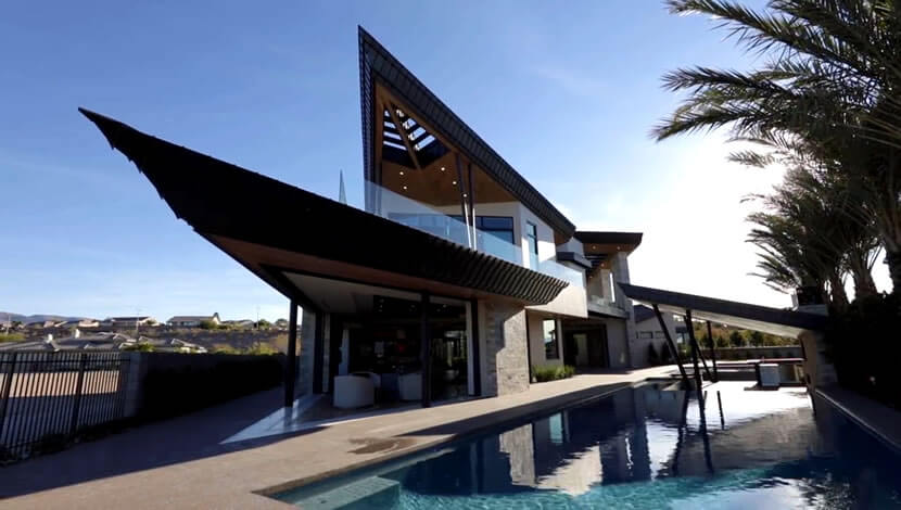 Modern architecture is unique