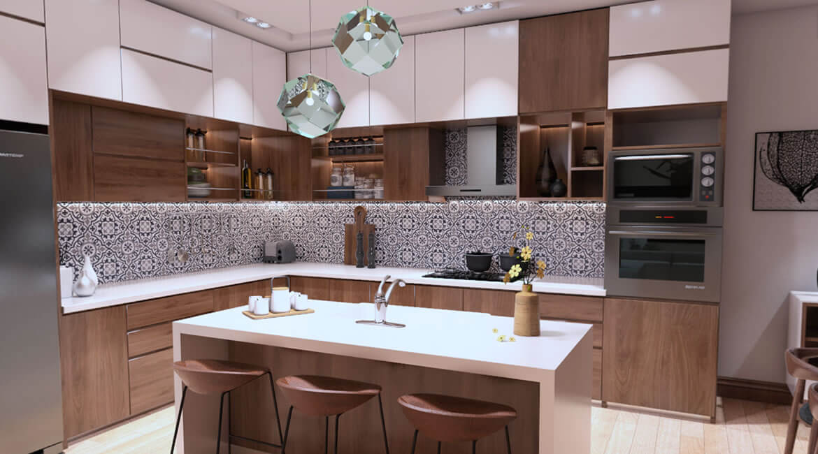 House interior design- kitchen