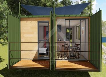 Container home design - Utah Lake