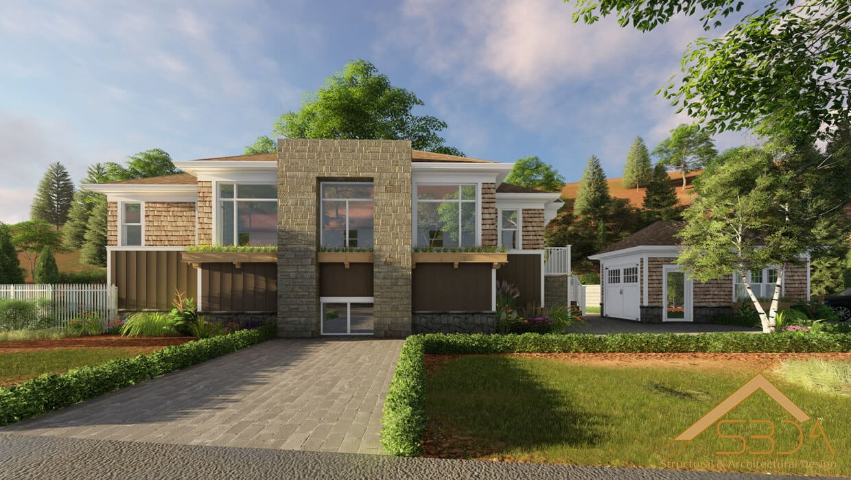3D Exterior Rendering - 3D Rendering Services - Visualizing Architecture