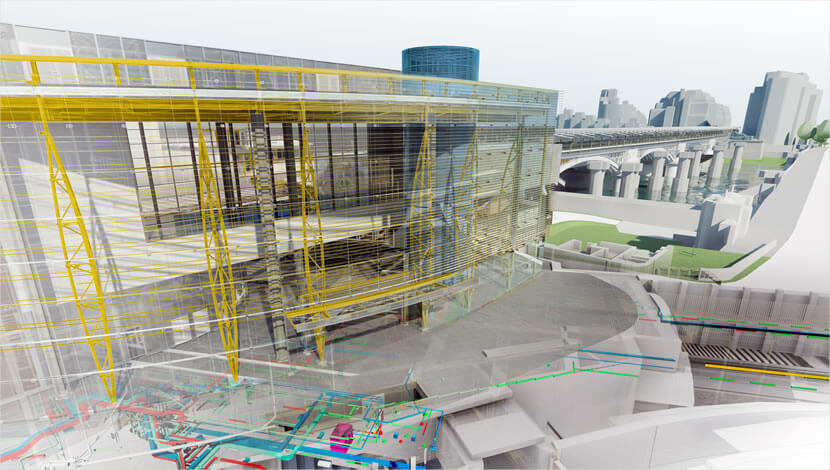 BIM used for both information and modeling