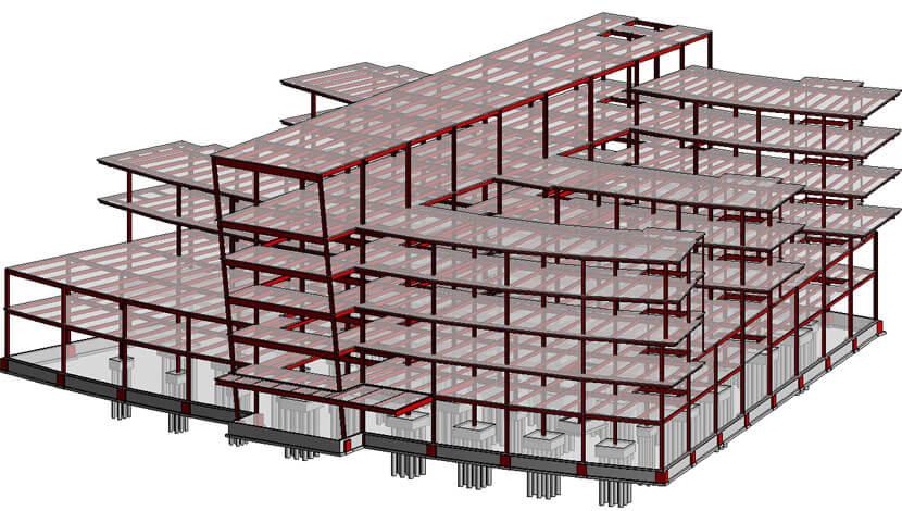 Building remodeling - Revit