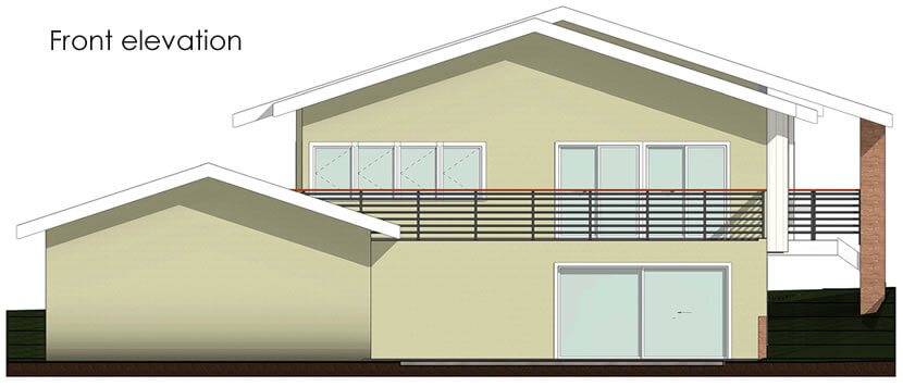 Home Plans - Front elevation
