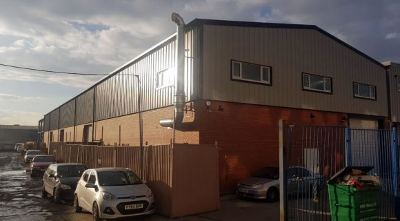 Metal Warehouse in London | Commercial steel building | Structural engineer