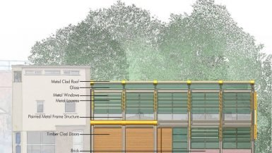 Office building design in London - UK