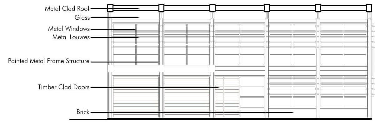 Office building design - structural engineering