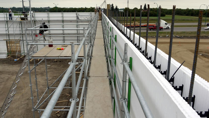 ICF walls resisted between 6 to 8.5 times of the lateral loads resisted by framed wall panels.