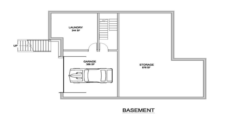 Modern house style - Basement