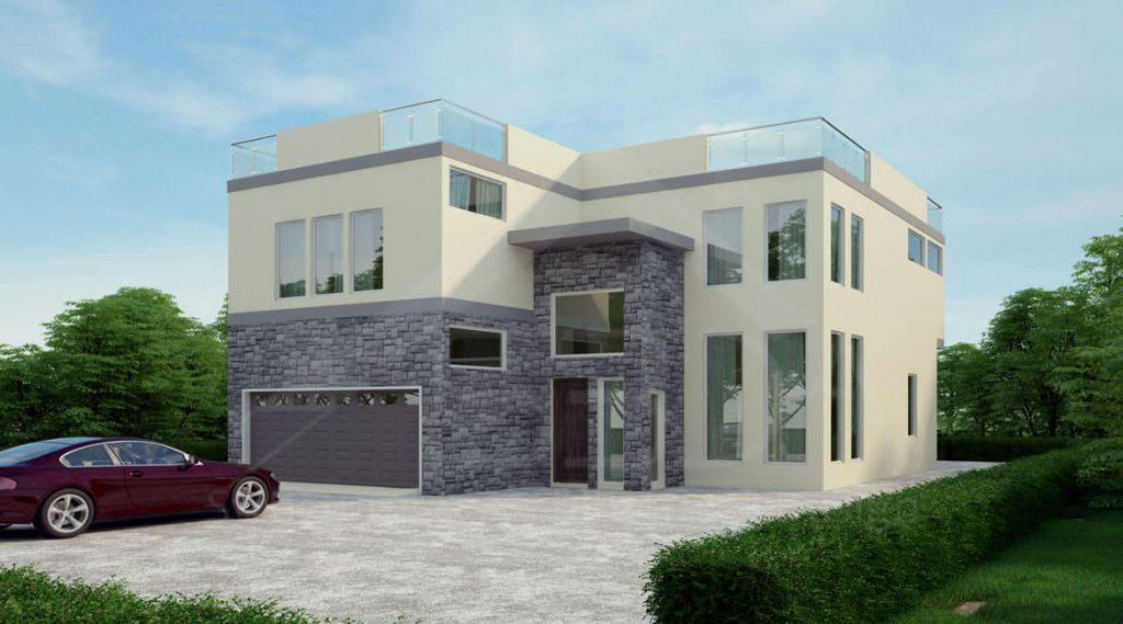 Modern house design in Malibu, California - Residential structural engineer California