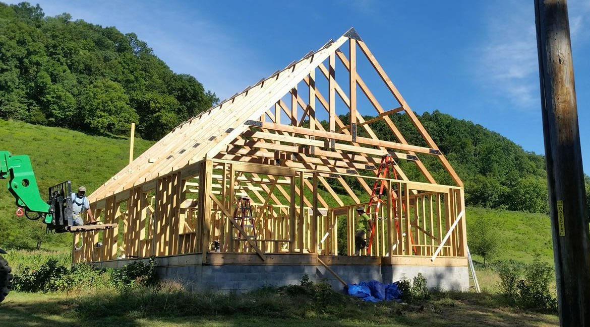 Timber frame home in California | Structural engineer CA | Exposed