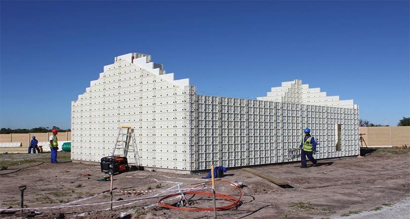ICFs wall