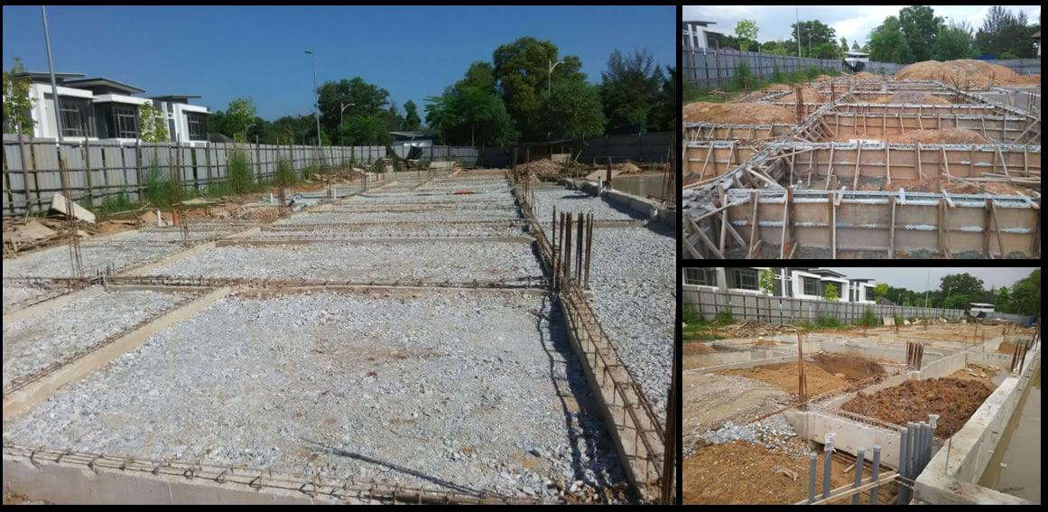 Structural design project Villa design
