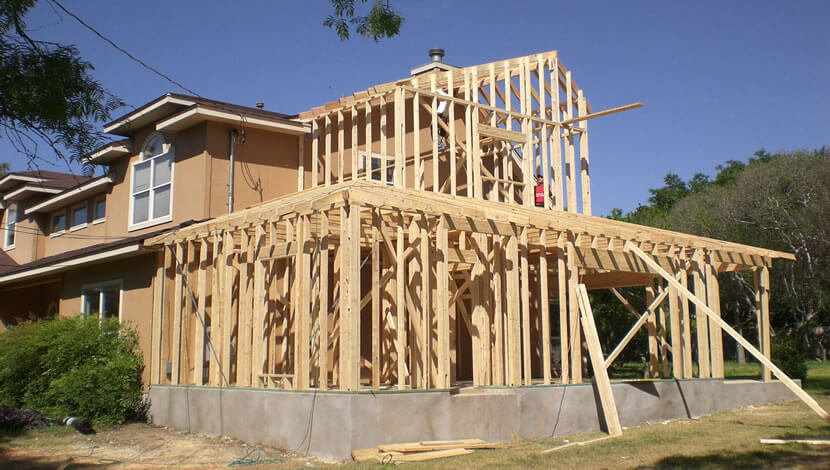 home addition in CA-US