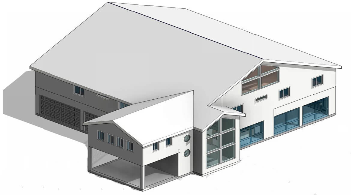 single family home in Florida - structural and architectural design services - Modeling