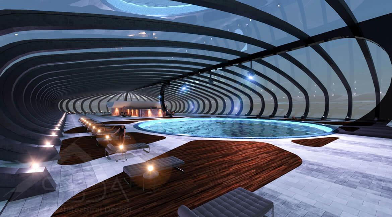 Architectural design - Conceptual Design - Dubai
