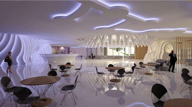 Z Tower in Dubai - Architectural design concept
