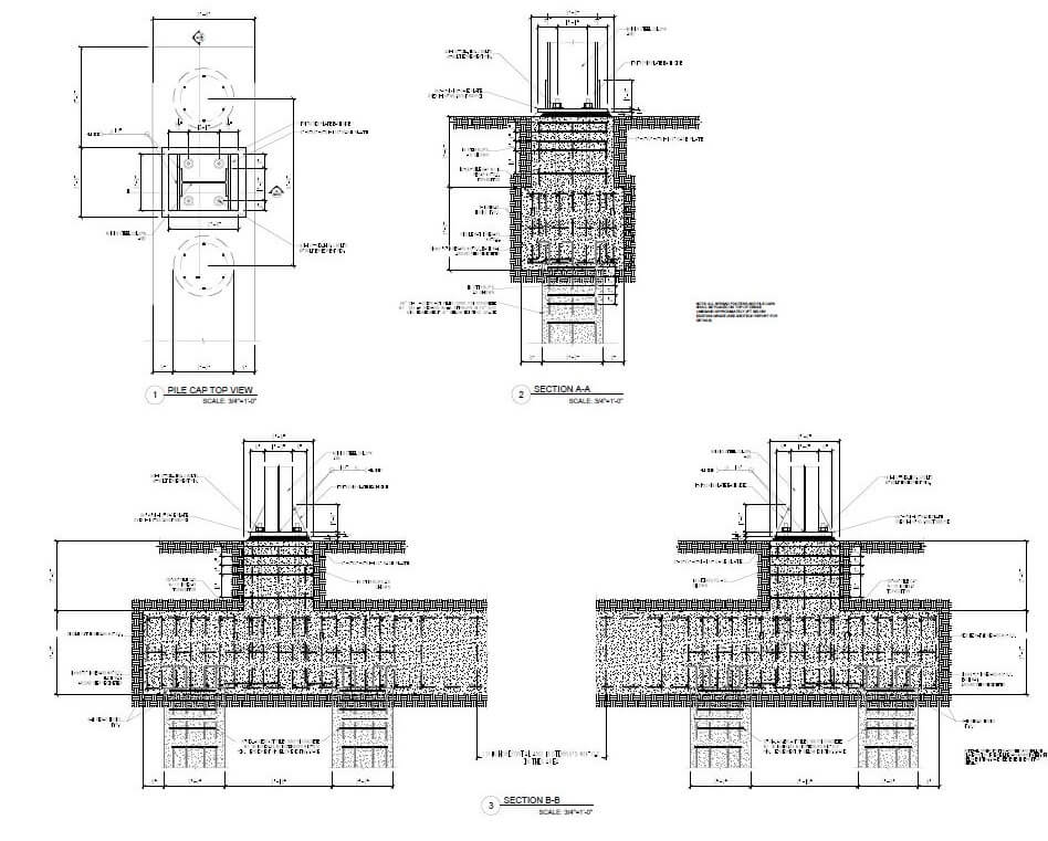 Design of a silo in Minco