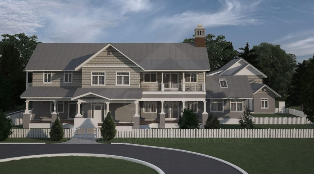 Two story home design Florida | Architecture design | Structural design | MEP design