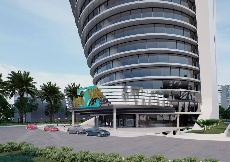 Tower in Dubai - tower design